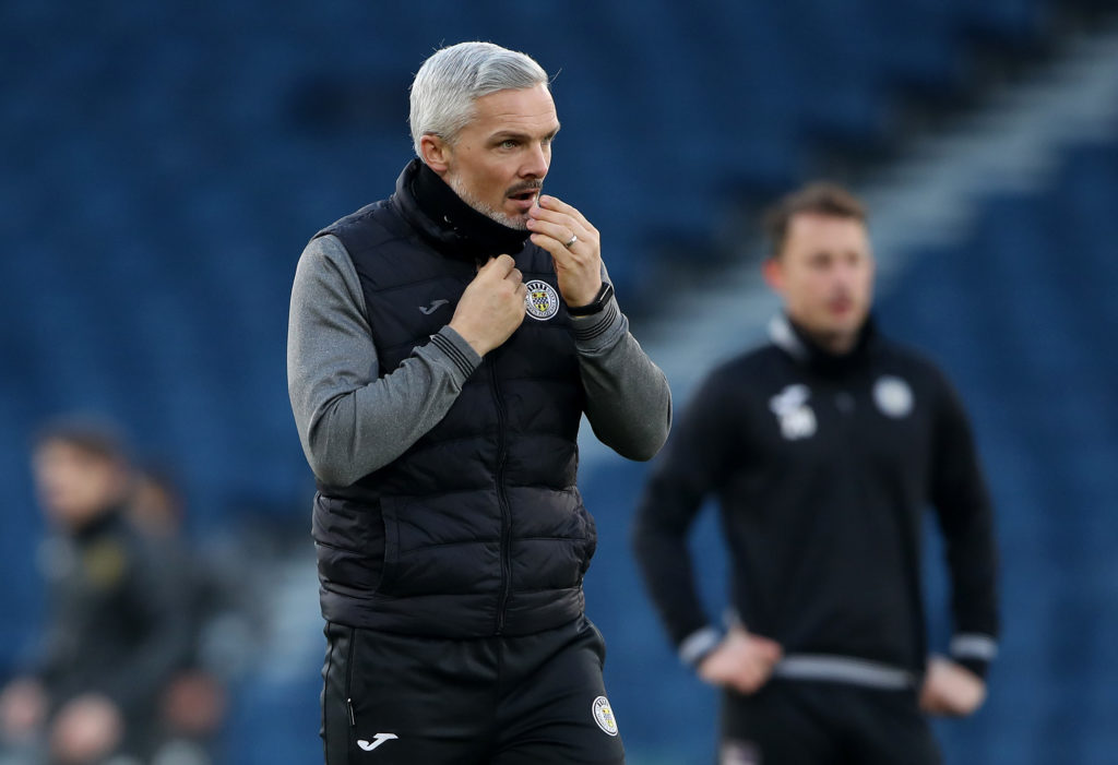 St Mirren manager Jim Goodwin 'privileged' to do the job he loves after living 'in the real world'