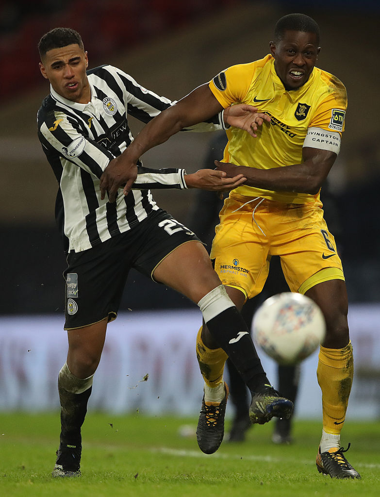 Erhahon has turned into a St Mirren star.