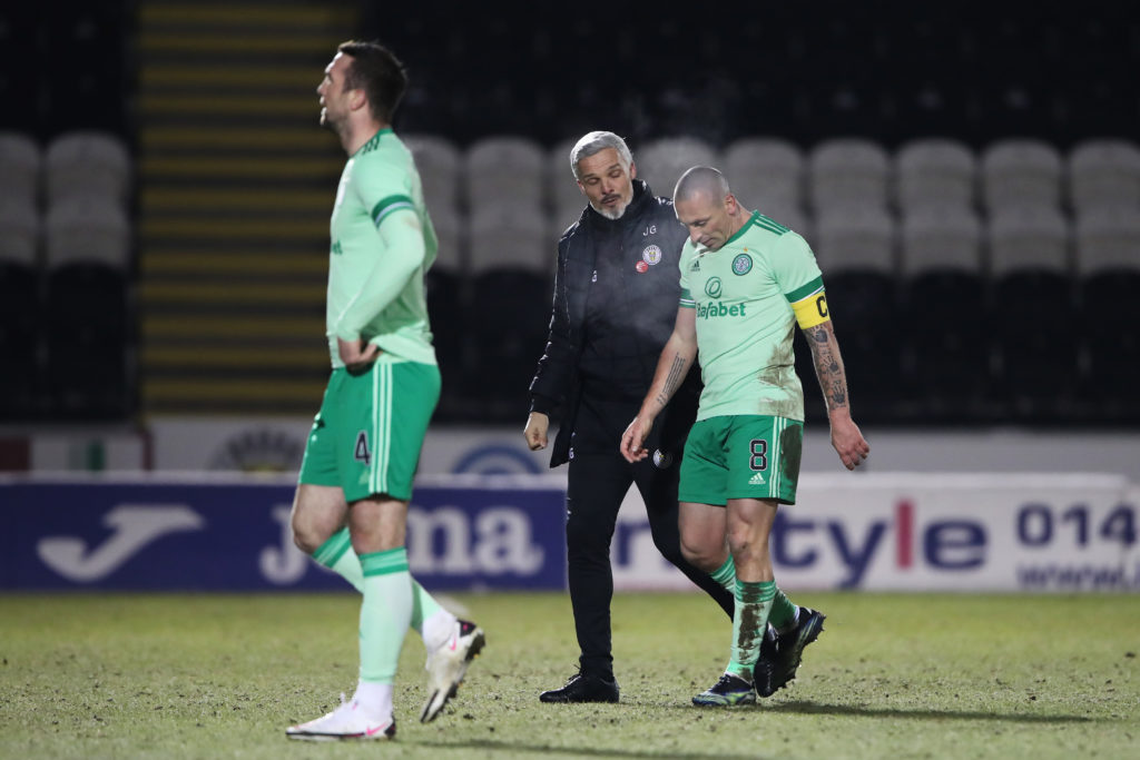 'The way the game's going'- Manager blasts Celtic penalty decision as he states ace crumbled