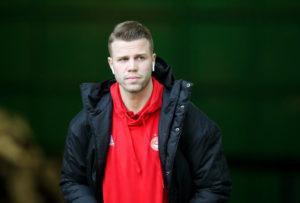 Florian Kamberi at Aberdeen.
