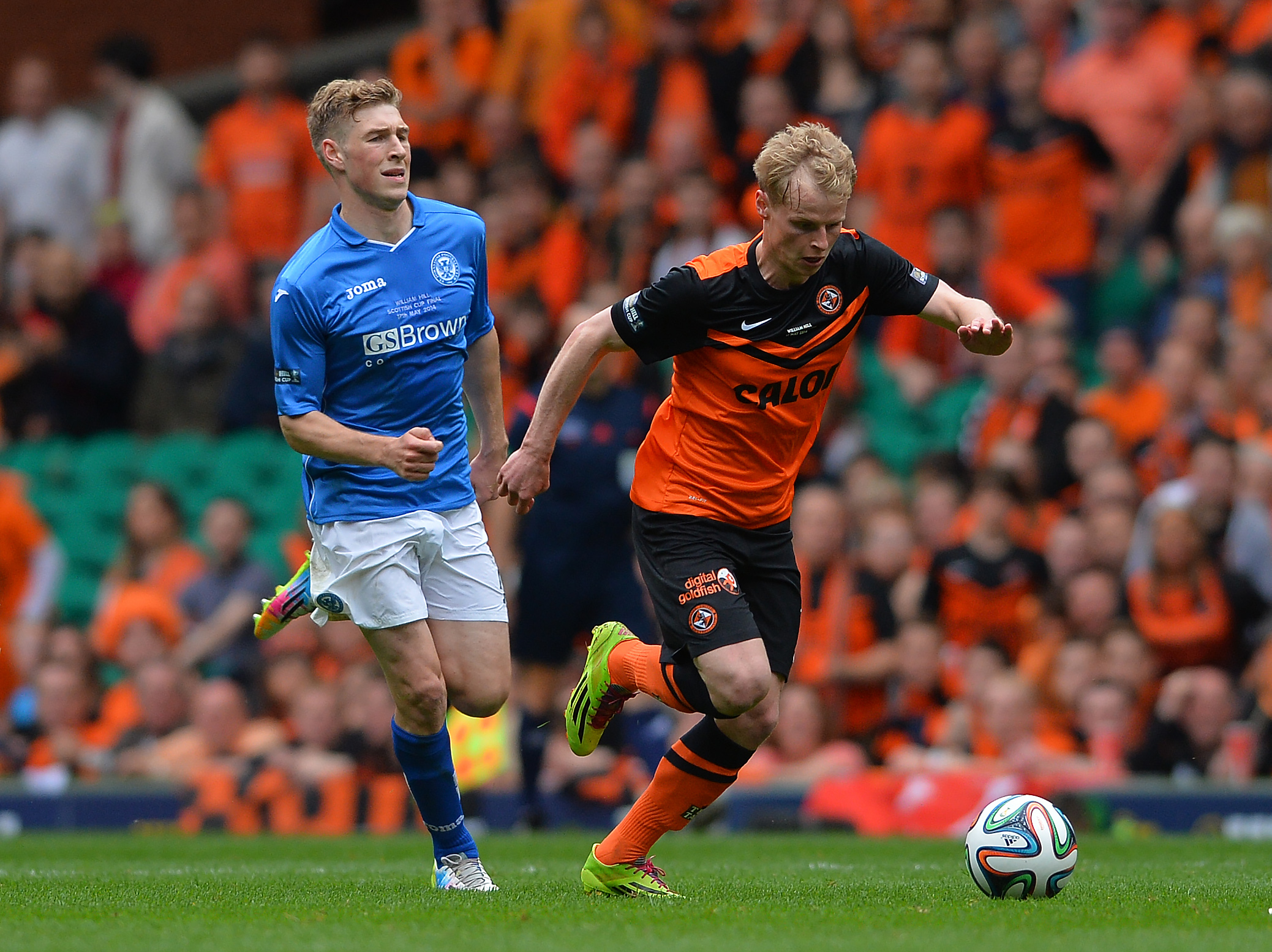 St Johnstone v Dundee United - The William Hill Scottish Cup Final