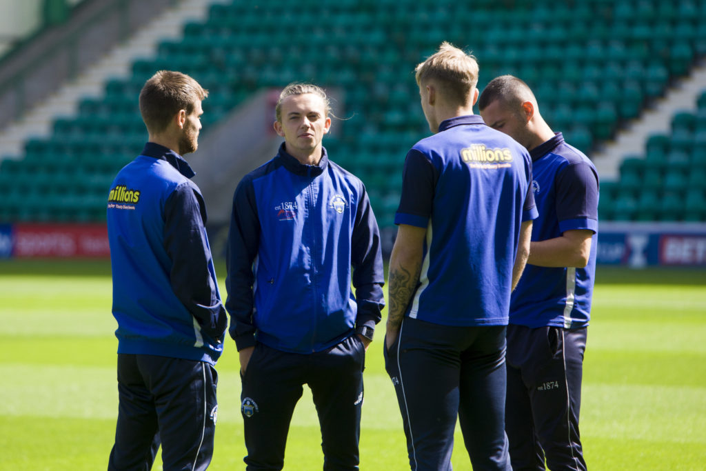 Celtic academy graduate confirms latest move as he departs Greenock for Bairns