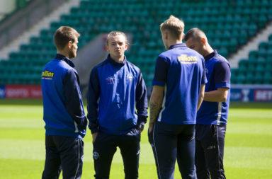 Hibernian V Greenock Morton - Scottish League Cup
