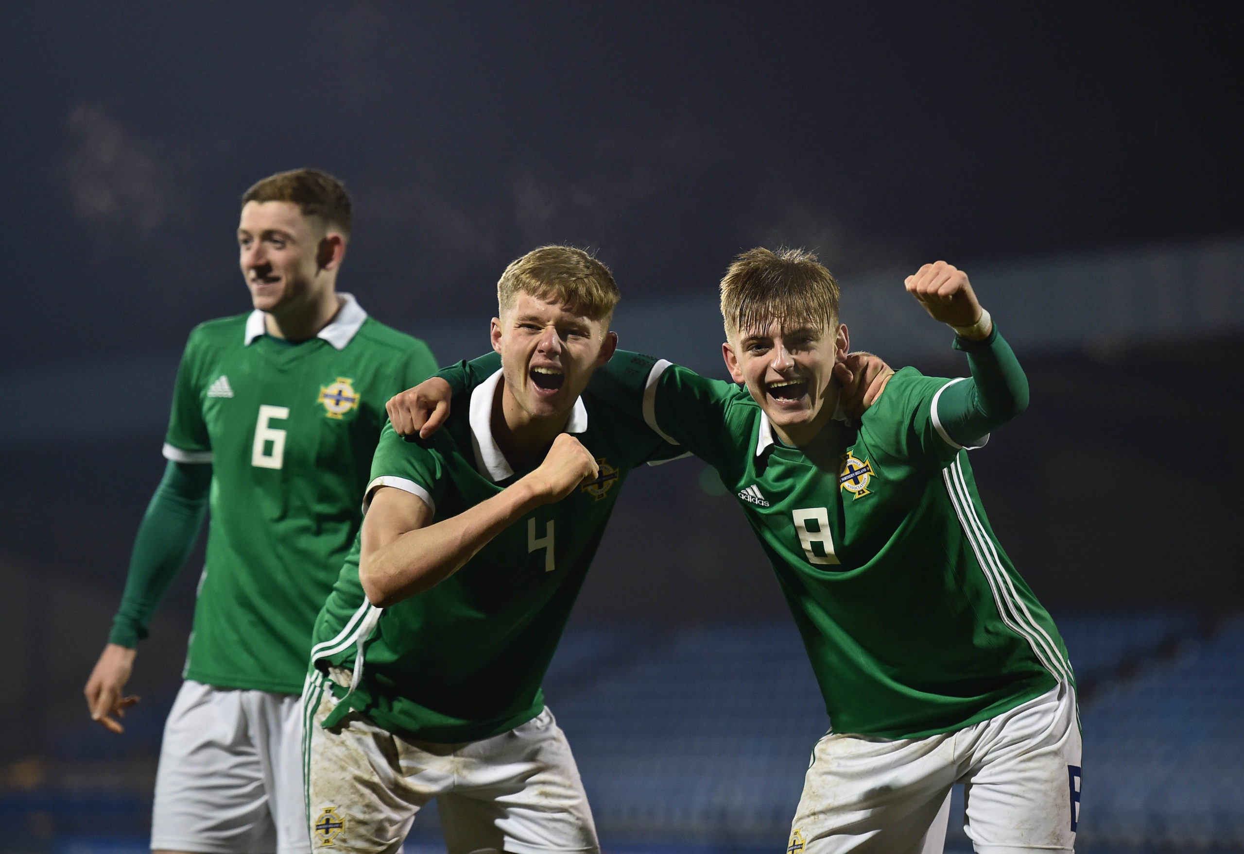 U19 Northern Ireland v U19 Germany - U19 Four-Nations Tournament