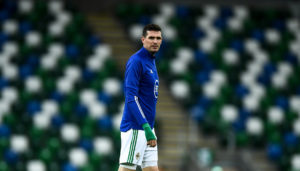 Former Norwich City man Kyle Lafferty has made a terrific gesture.