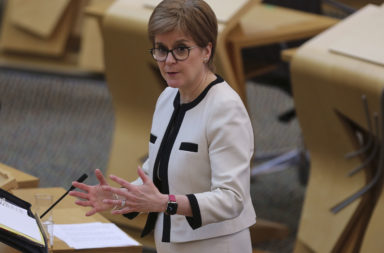 Nicola Sturgeon Takes First Minister's Questions