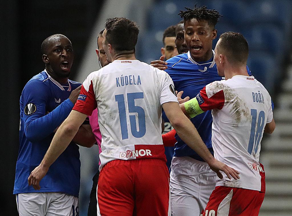 Rangers v Slavia Praha - UEFA Europa League Round Of 16 Leg Two
