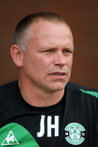 Soccer - Preseason Friendly - Blackburn Rovers vs. Hibernian FC, John Hughes.