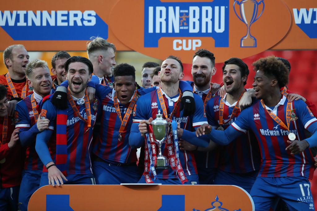Dumbarton FC v Inverness Caledonian Thistle FC - IRN-BRU Scottish Challenge Cup Final