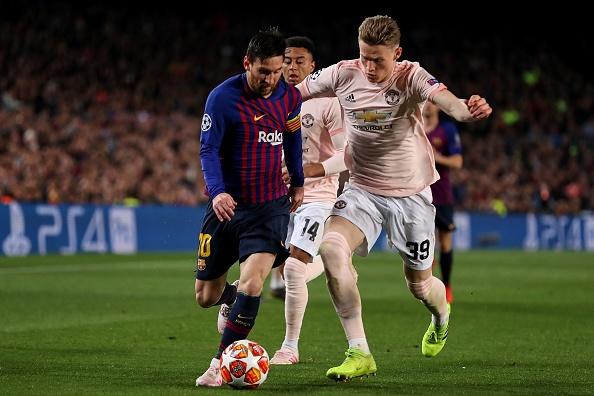 Barcelona vs Manchester United: UEFA Champions League