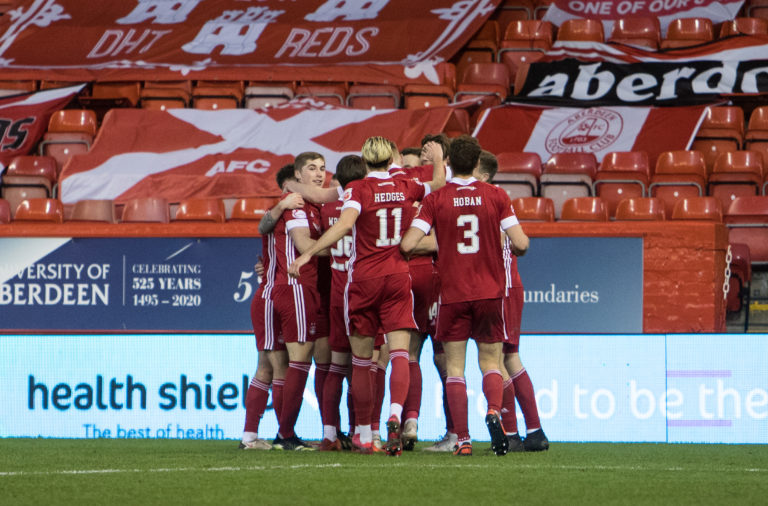Aberdeen v Motherwell - Ladbrokes Scottish Premiership