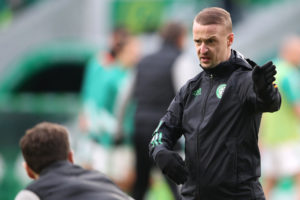 Griffiths is out-of-contract and Hibs may be keen on a move.