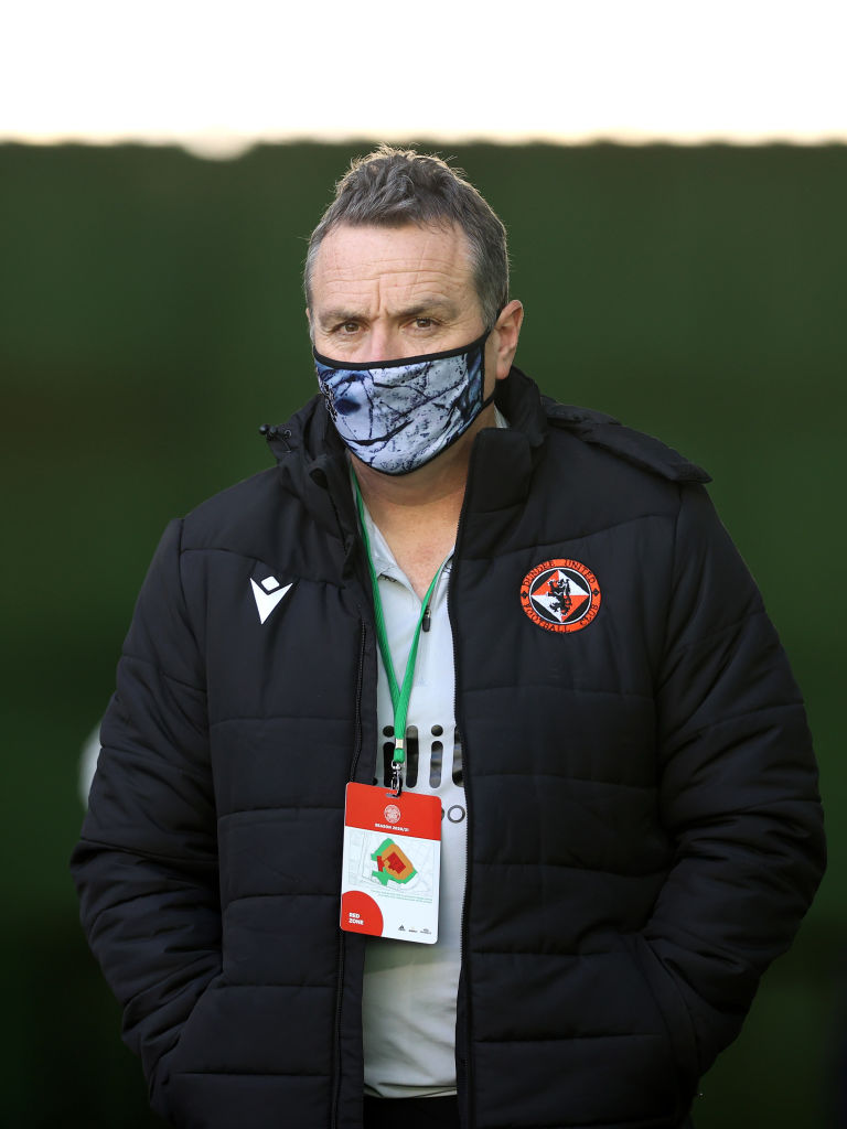 The Dundee United boss is linked with Doncaster.