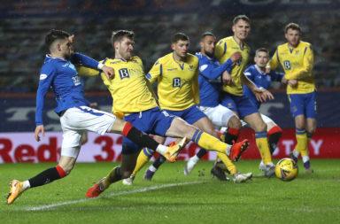 Rangers v St. Johnstone - Ladbrokes Scottish Premiership