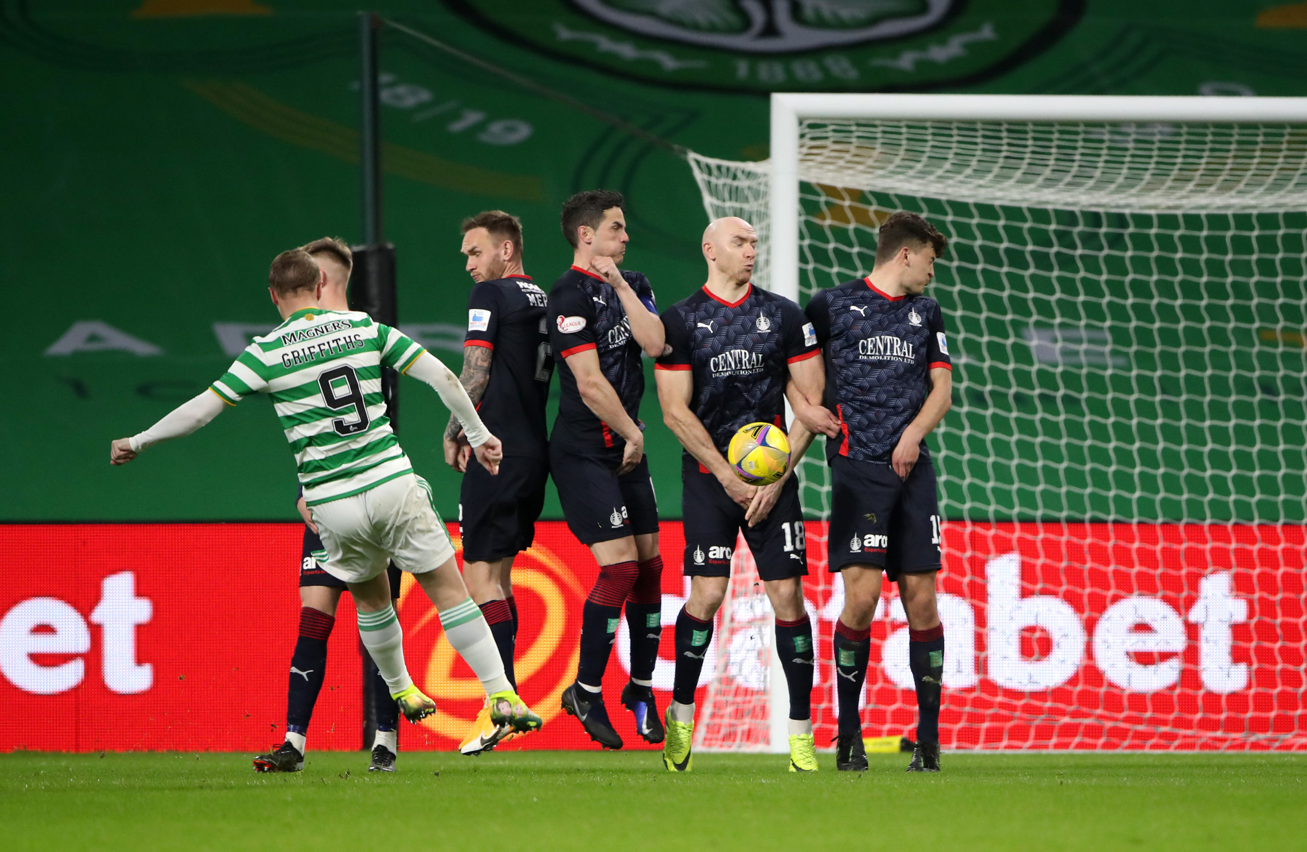 Celtic v Falkirk - William Hill Scottish Cup Third Round