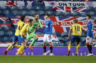 Rangers v St Johnstone - William Hill Scottish Cup