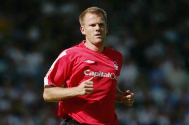 Jon Olav Hjelde of Nottingham Forest