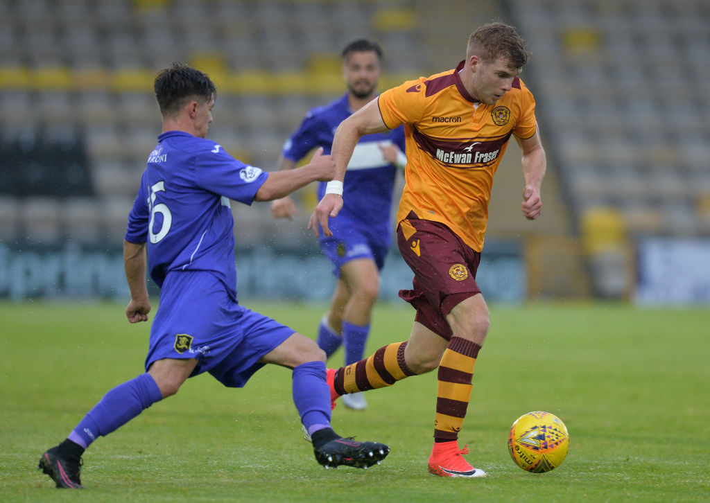 Knox was tracked by Manchester United at Livingston.