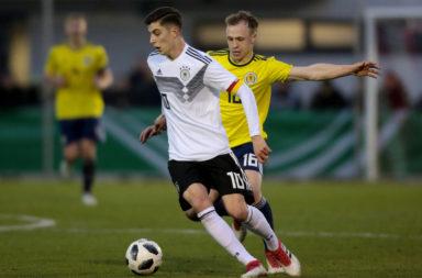 U19 Germany v U19 Scotland - UEFA Under19 European Championship Qualifier
