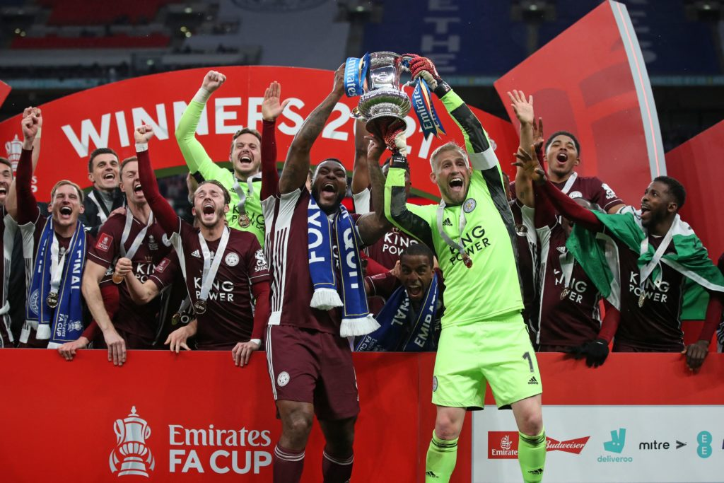 Leicester City success for two former Dons as duo earn historic prize at Wembley