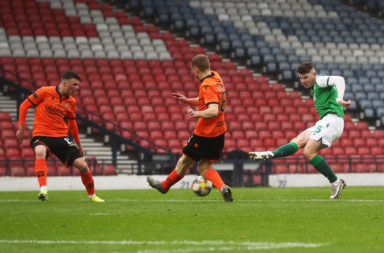 Dundee United v Hibernian - William Hill Scottish Cup
