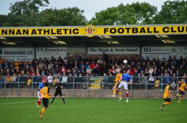 Annan Athletic FC v Rangers - IRN-BRU Scottish Third Division