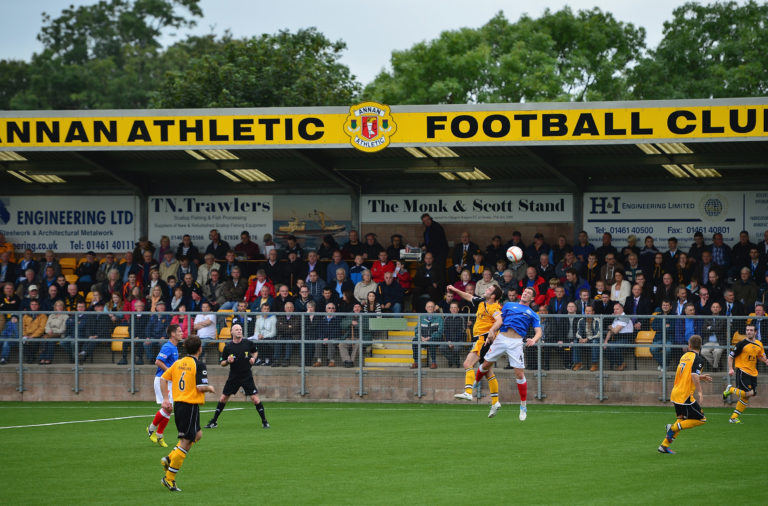 Annan Athletic FC v Rangers - IRN-BRU Scottish Third Division