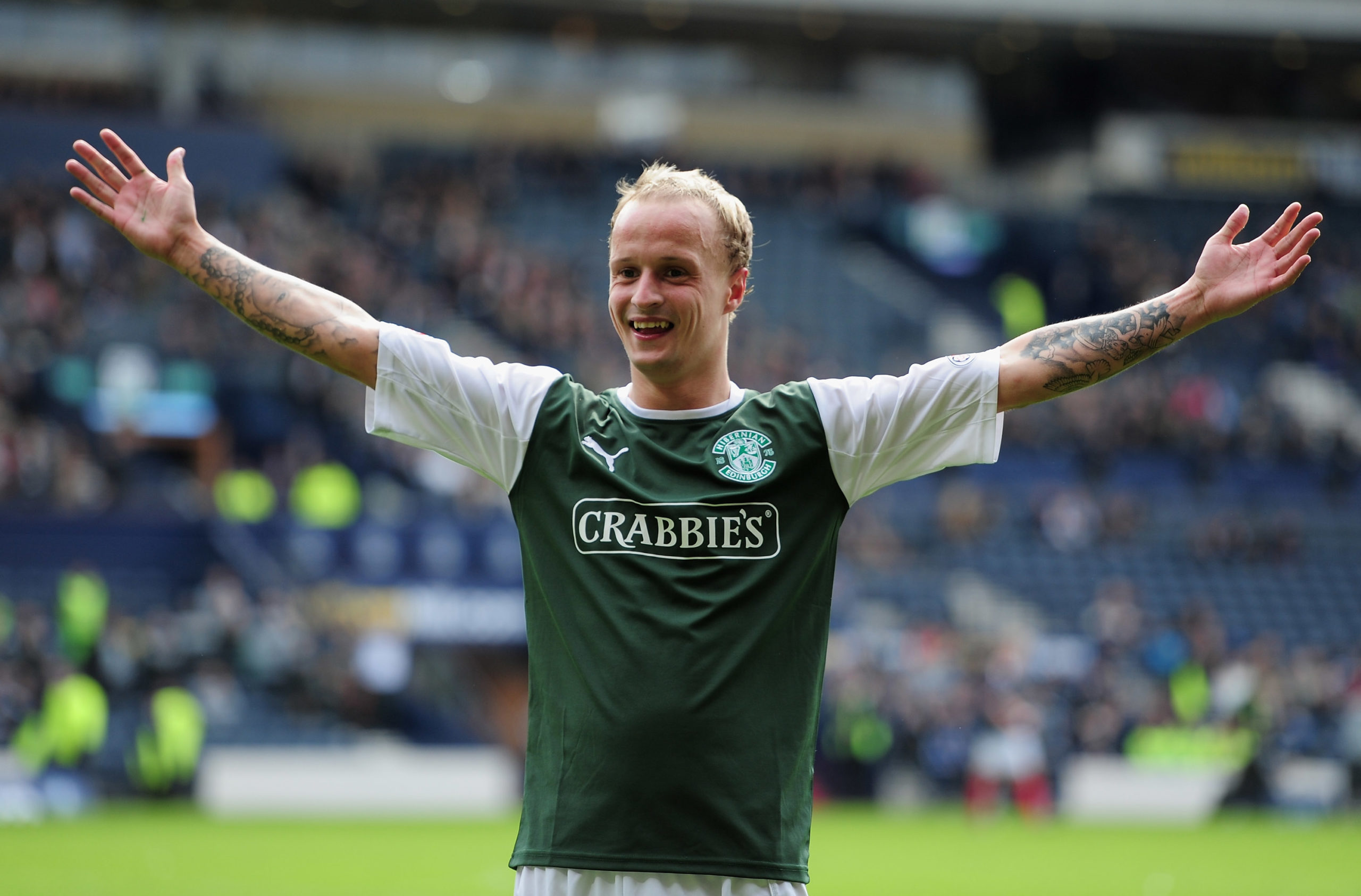 Griffiths has been linked with a return to Hibs.