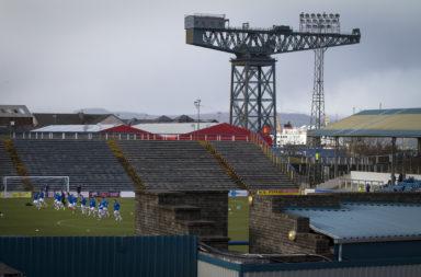Soccer - Greenock Morton vs. Stranraer - Scottish League One