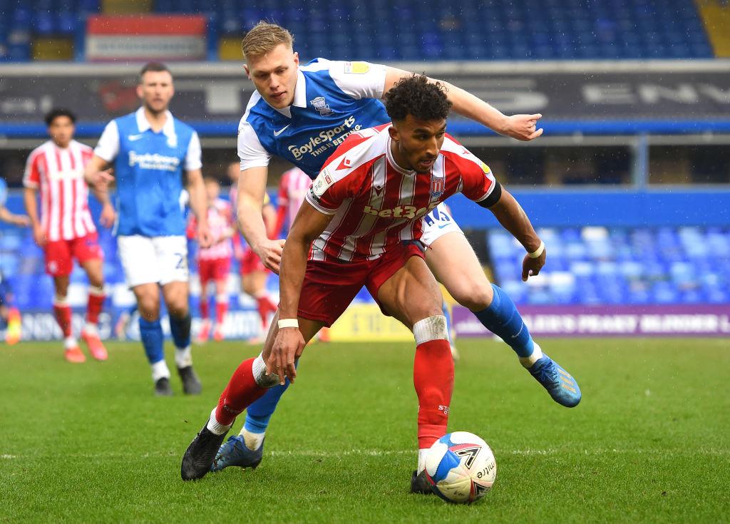 Birmingham City want to shift former Aberdeen man Sam Cosgrove.