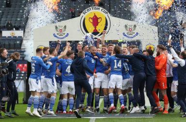 Hibernian v St Johnstone - Scottish Cup Final