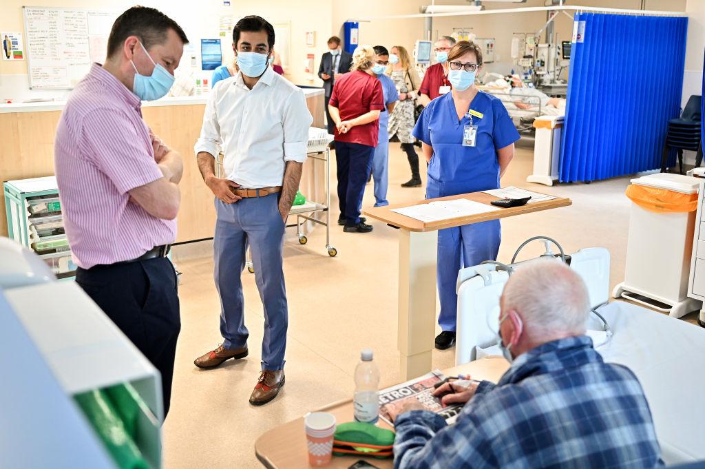 Scotland's Health Secretary Visits Monklands University Hospital