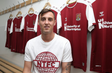 Northampton Town Unveil New Signing Dylan Connolly