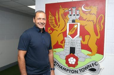 Northampton Town Unveil New Assistant Manager Colin Calderwood