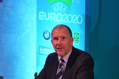 Glasgow UEFA EURO 2020 Host City Logo Launch Event