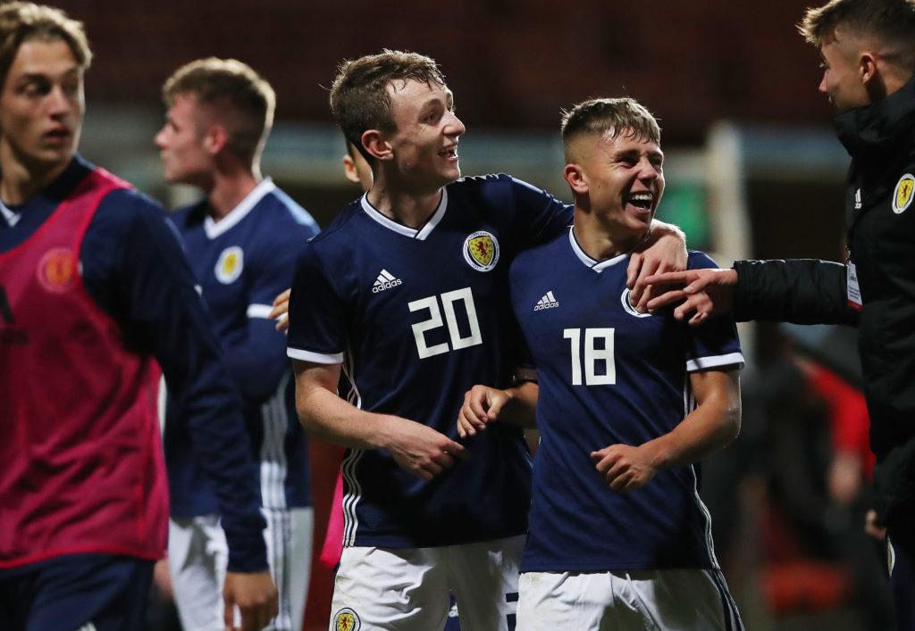 dunfermline Scotland v Germany - UEFA Under 19 European Qualifier