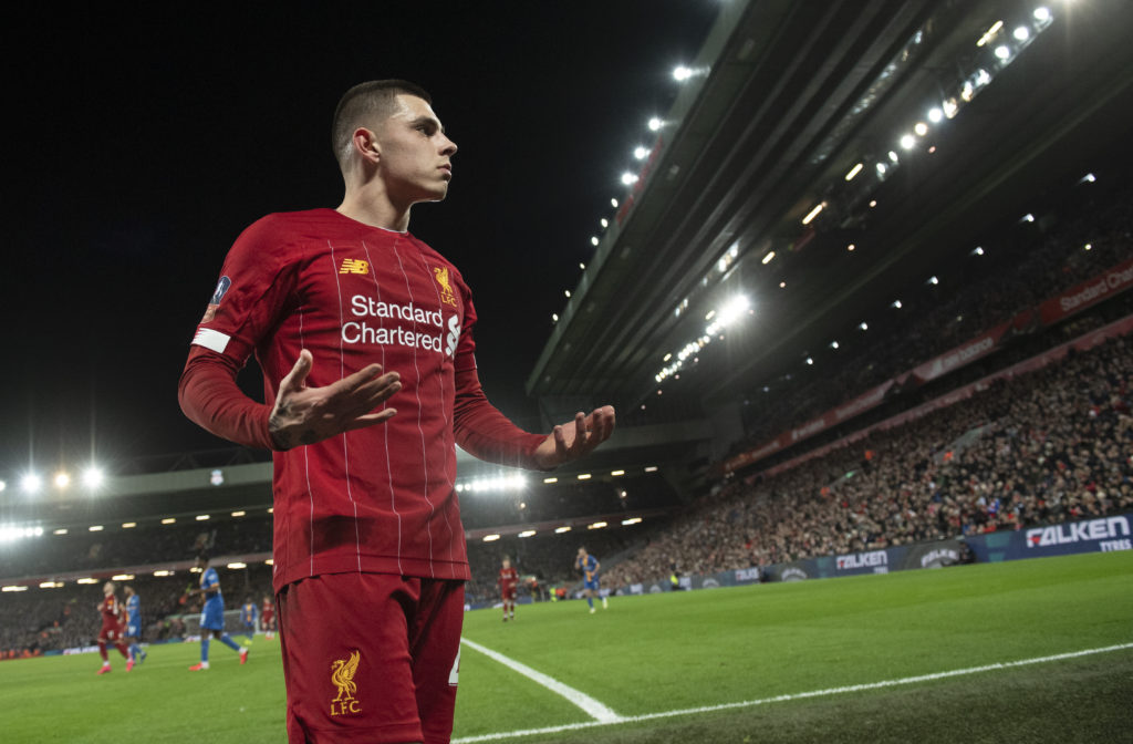 'Looking to impress' - Liverpool talent praised by Lions boss as Anfield man faces Gerrard on Saturday