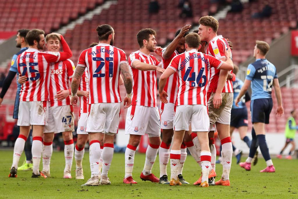Stoke City v Wycombe Wanderers - Sky Bet Championship