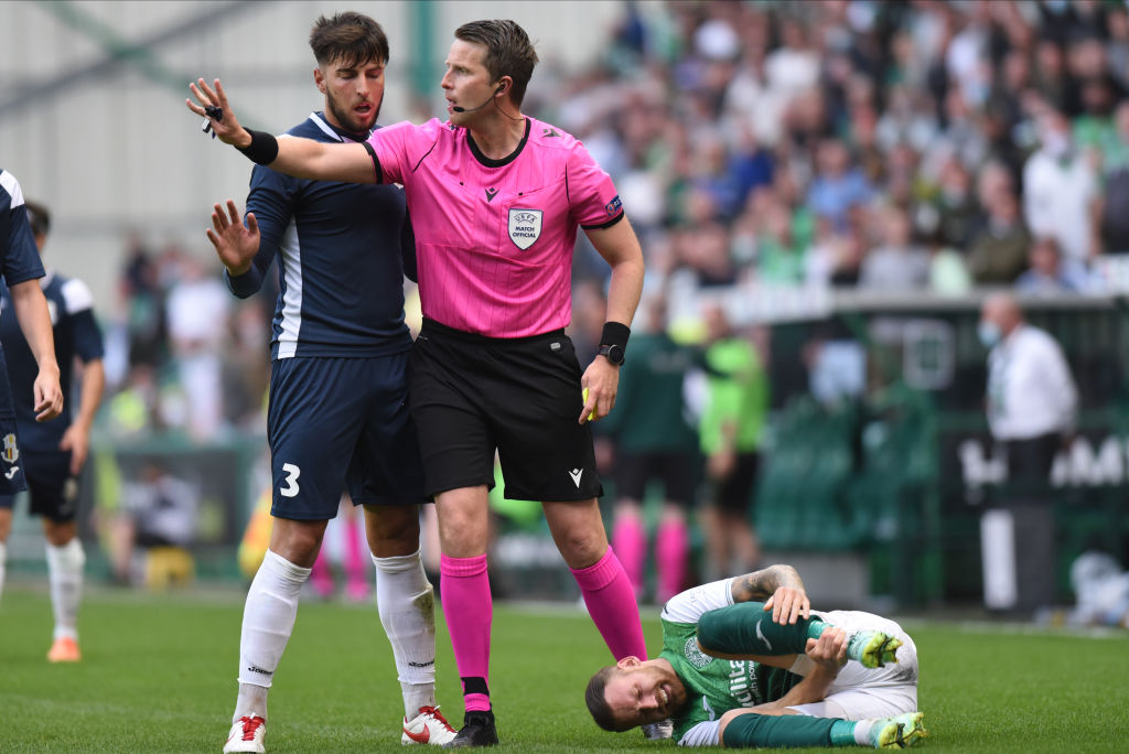 Hibernian v Santa Coloma - UEFA Conference League Second Qualifying Round: First Leg