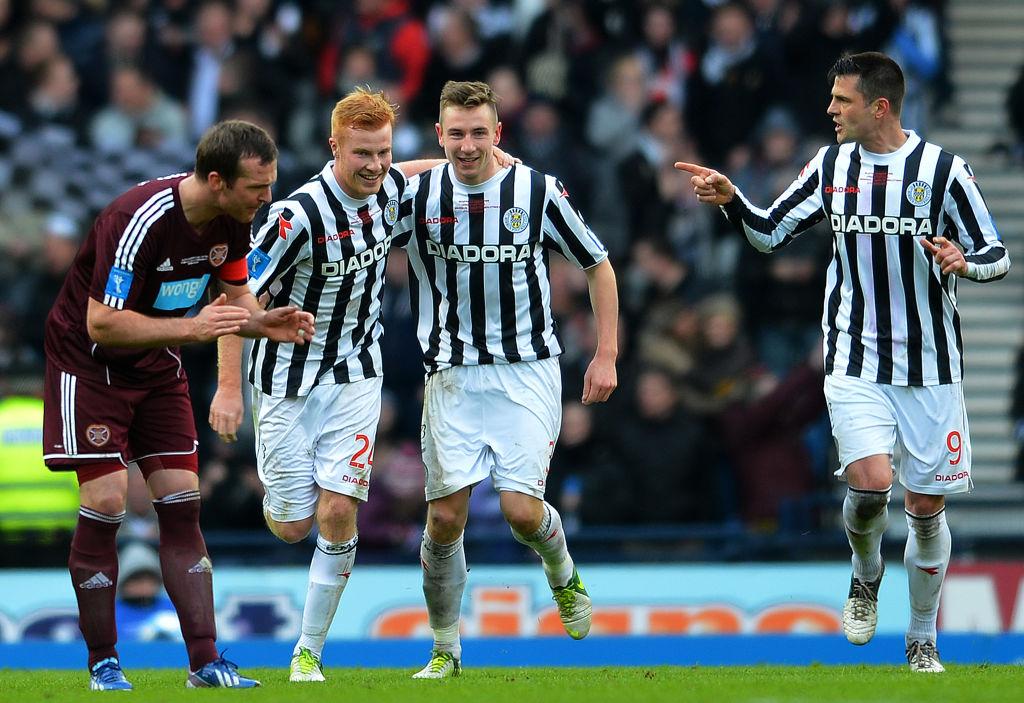 St Mirren v Hearts - Scottish Communities League Cup Final