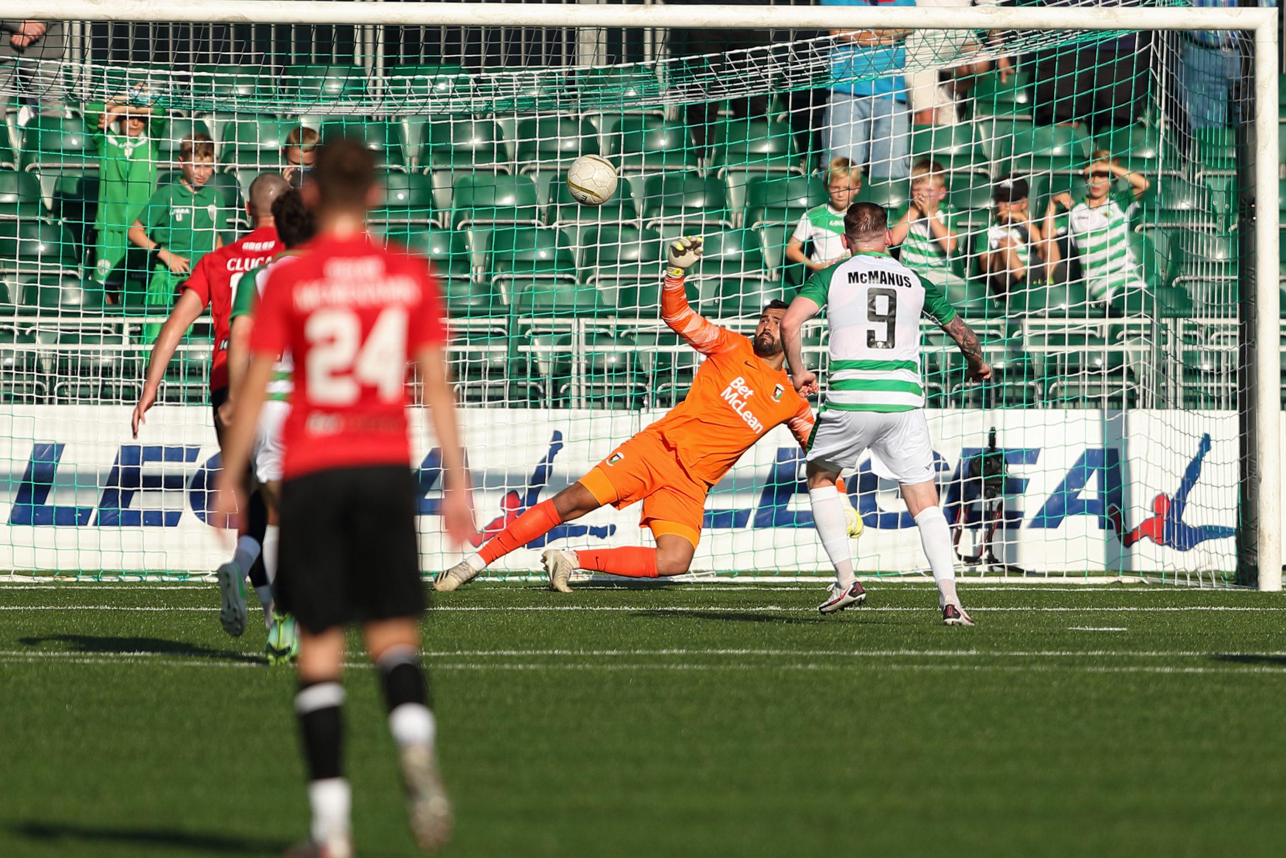 TNS v Glentoran - UEFA Europa Conference League First Qualifying Round Second Leg