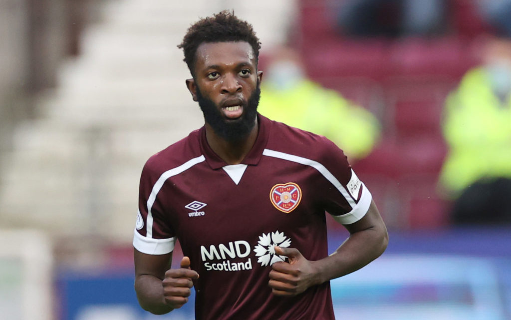 Jambos boss hails 'exceptional' star after stunning debut following Everton exit