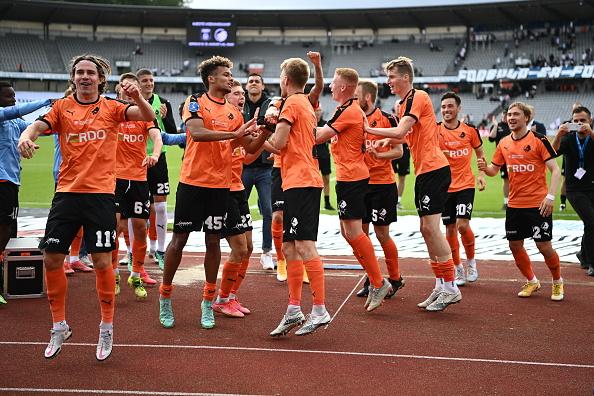 AGF Arhus vs Randers FC - Danish 3F Superliga