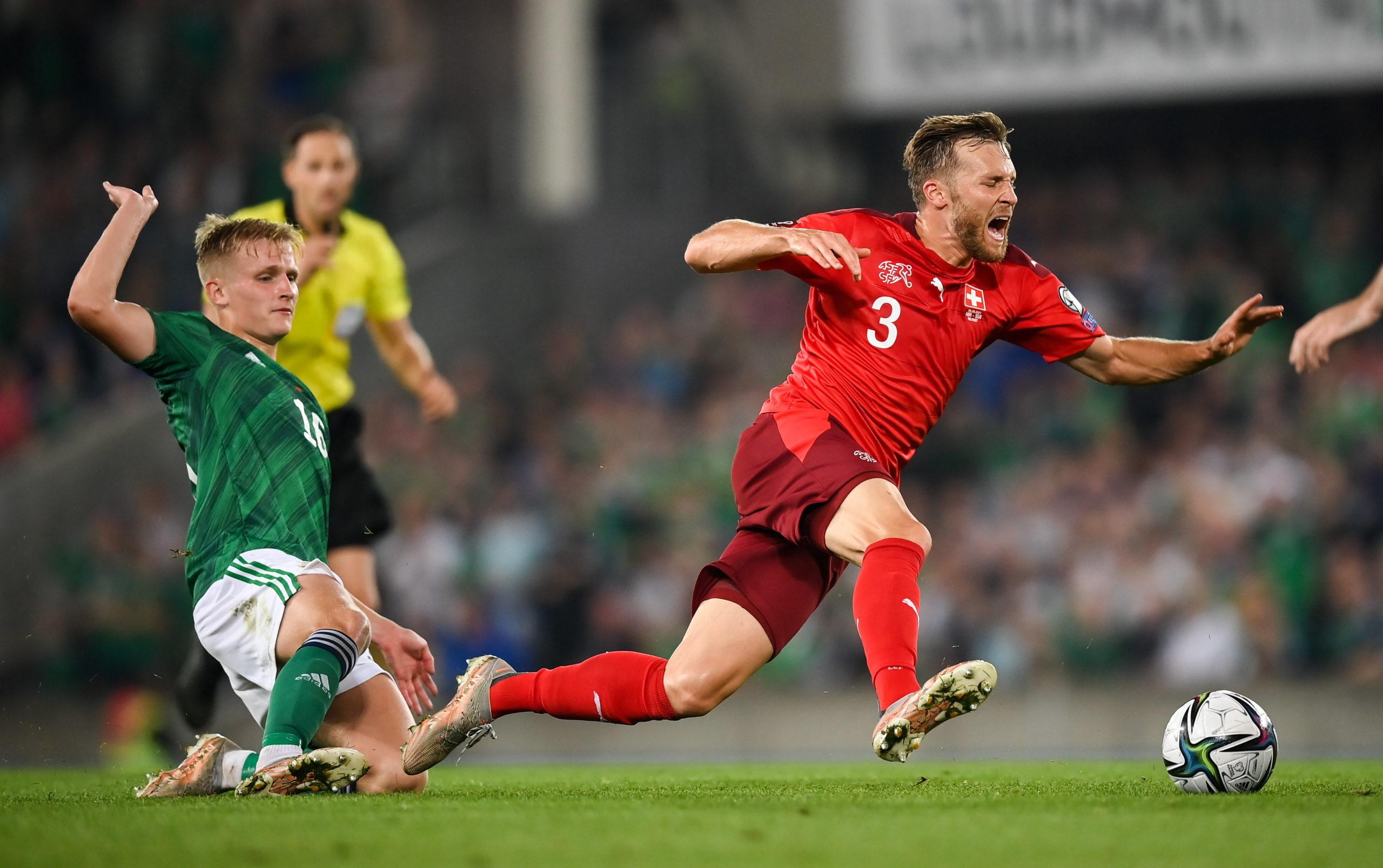 Northern Ireland v Switzerland - FIFA World Cup 2022 Qualifier Group C