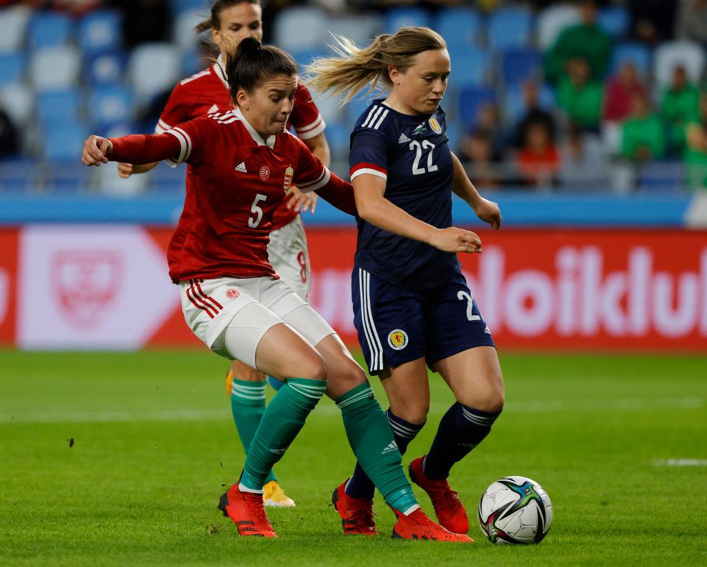 Hungary v Scotland - FIFA Women's World Cup Qualifier