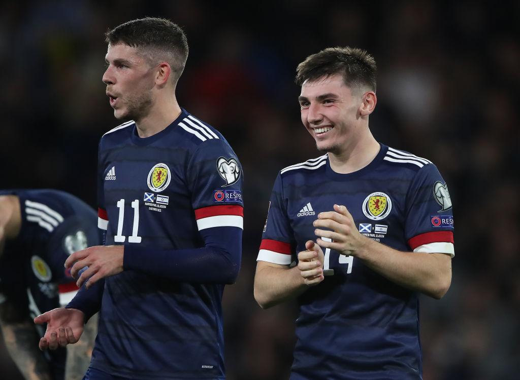 Scotland v Israel - 2022 FIFA World Cup Qualifier billy gilmour